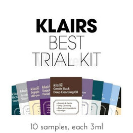 KLAIRS Trial Kit + Vitamin C Sheet Mask Free - SheLC