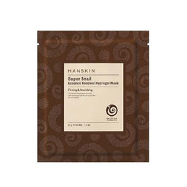HANSKIN Super Snail Essence Renewal Hydrogel Mask - SheLC