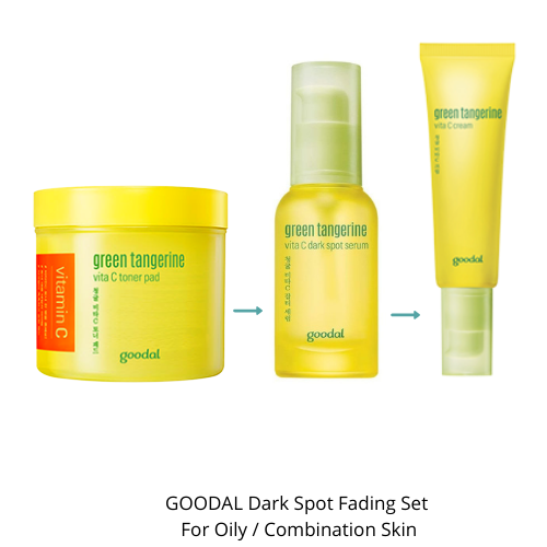 GOODAL Green Tangerine Dark Spot Fading Set (Oily / Combination Skin)