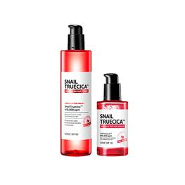 Some By Mi Snail Truecica Miracle Toner +  Snail Truecica Miracle Repair Serum Set