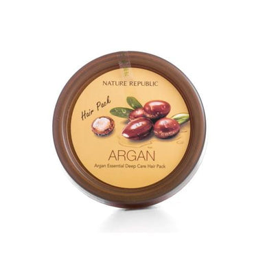 NATURE REPUBLIC Argan Essential Deep Care Hair Pack - SheLC