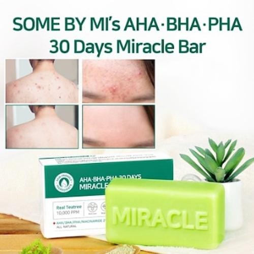 SOME BY MI  AHA BHA PHA 30 Days Miracle Bar Soap - SheLC