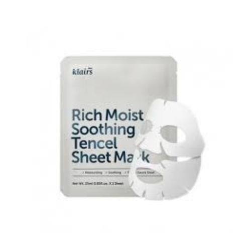 KLAIRS Rich Moist Soothing Tencel Sheet Mask - SheLC