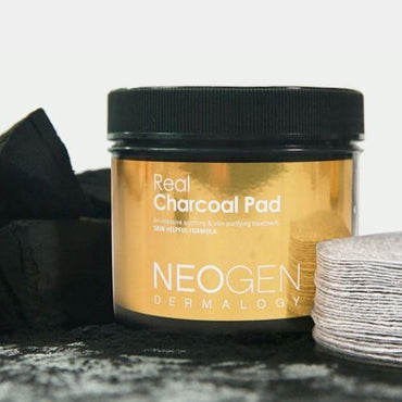 NEOGEN DERMALOGY Real Charcoal Pad  60ea - SheLC