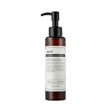 KLAIRS Gentle Black Deep Cleansing Oil - SheLC