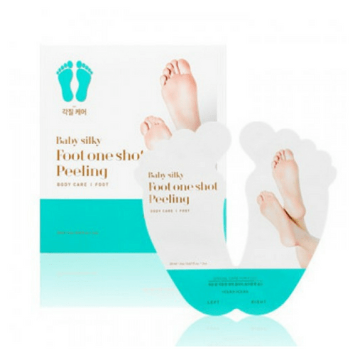 HOLIKA HOLIKA Baby Silky Foot One Shot Peeling - SheLC