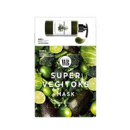 Wonder Bath Super Vegitoks 2-Step Sheet Mask - SheLC