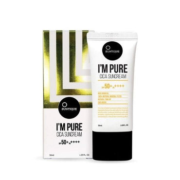 SUNTIQUE I'M Pure CICA Suncream SPF 50+PA+++
