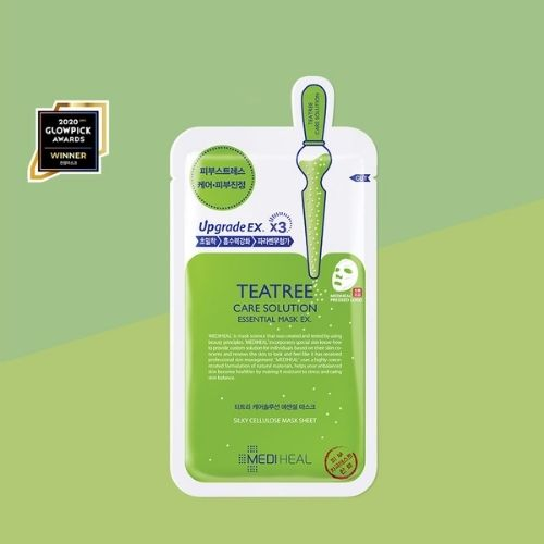 MEDIHEAL Tea Tree Care Solution Essential Sheet Mask EX