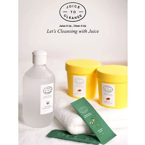 JUICE TO CLEANSE Organic Triple Cleansing Set