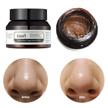 KLAIRS Gentle Black Sugar Facial Polish
