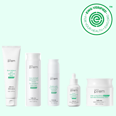 MAKE P:REM Safe Me.Relief Pregnancy-friendly Skincare Set