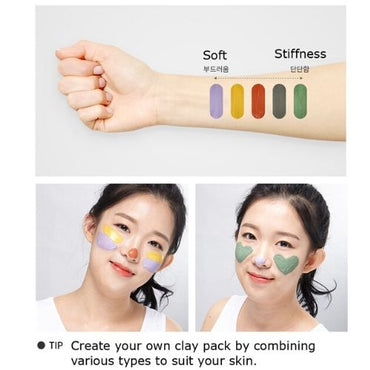 Korean EUNYUL Multi-Masking Clay Pouch clean fresh