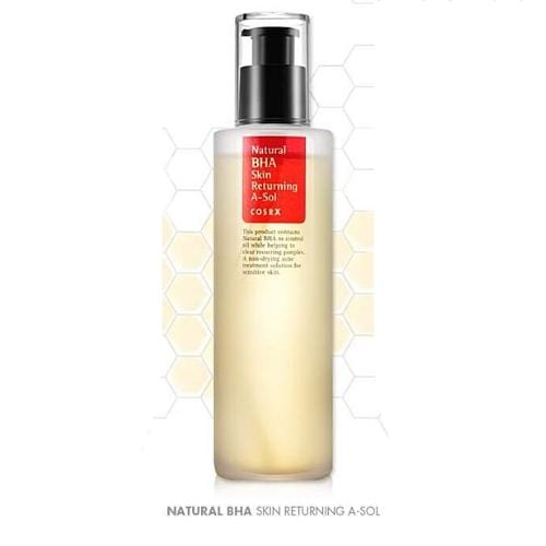 COSRX Natural BHA Skin Returning A-Sol Toner - SheLC