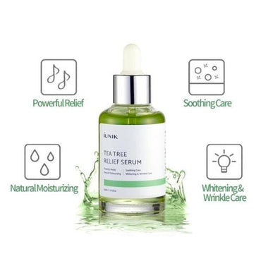 IUNIK Tea Tree Relief Serum - SheLC