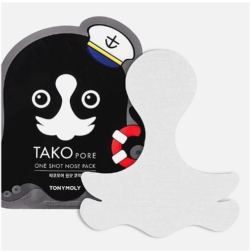 Tonymoly Tako Pore One Shot Nose Pack - SheLC