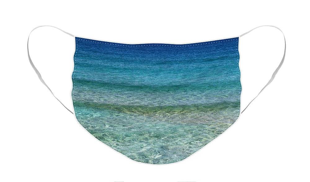 Ocean Face Mask - Sea Beach Waves Nature Gift