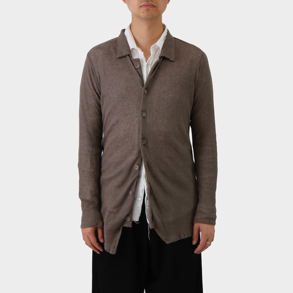 Paul Harnden Knitted Linen Shirt