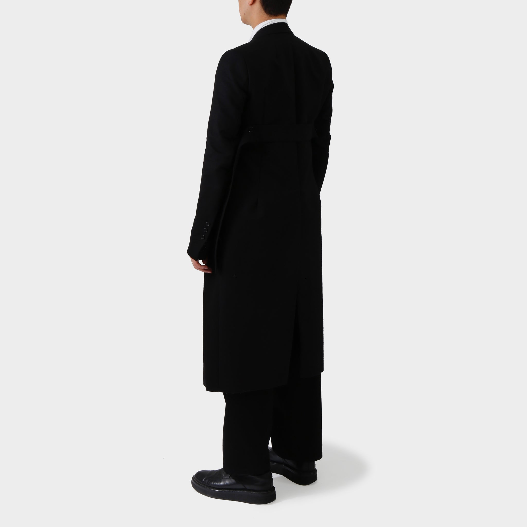 Rick Owens Long Cotton Coat