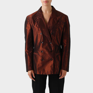 Jean Paul Gaultier Unlined Nylon Blazer