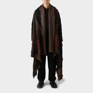 By Walid 19th Century Patchwork Silk Coat