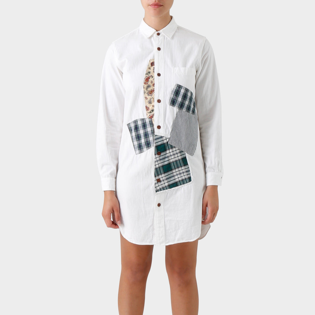Junya Watanabe MAN Patchwork Shirt Dress