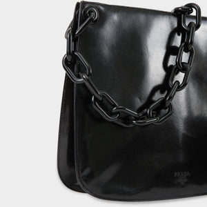 Prada Chain Madras Swing Bag