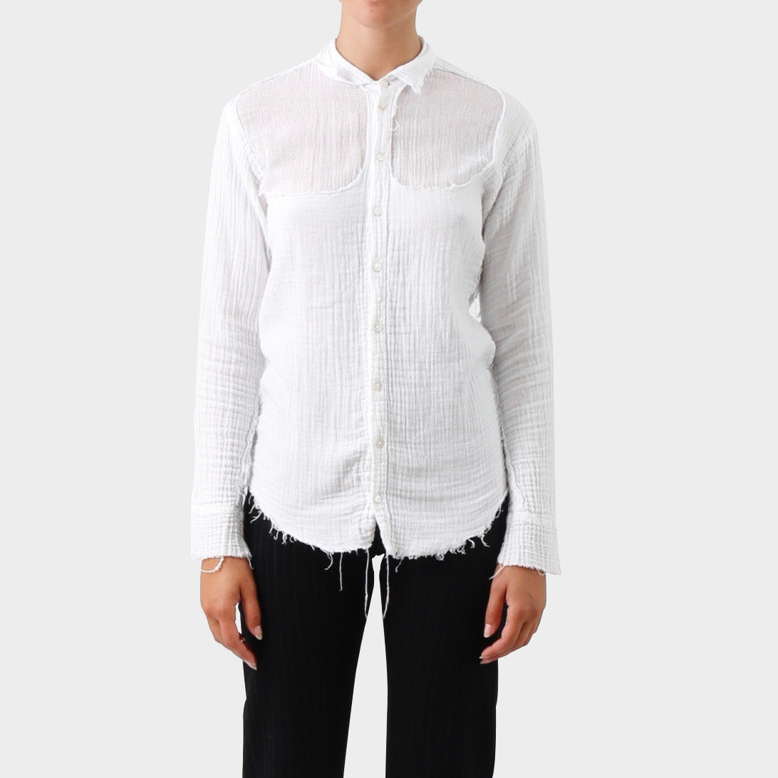 Elena Dawson Double Crepe Cotton Shirt
