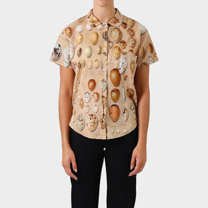 Paul Harnden Shoemakers Bird Egg Print Short sleeve Shirt