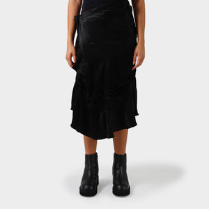 Junya Watanabe Asymmetric Side Button Skirt