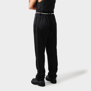 Elena Dawson Silk Tailored Pants