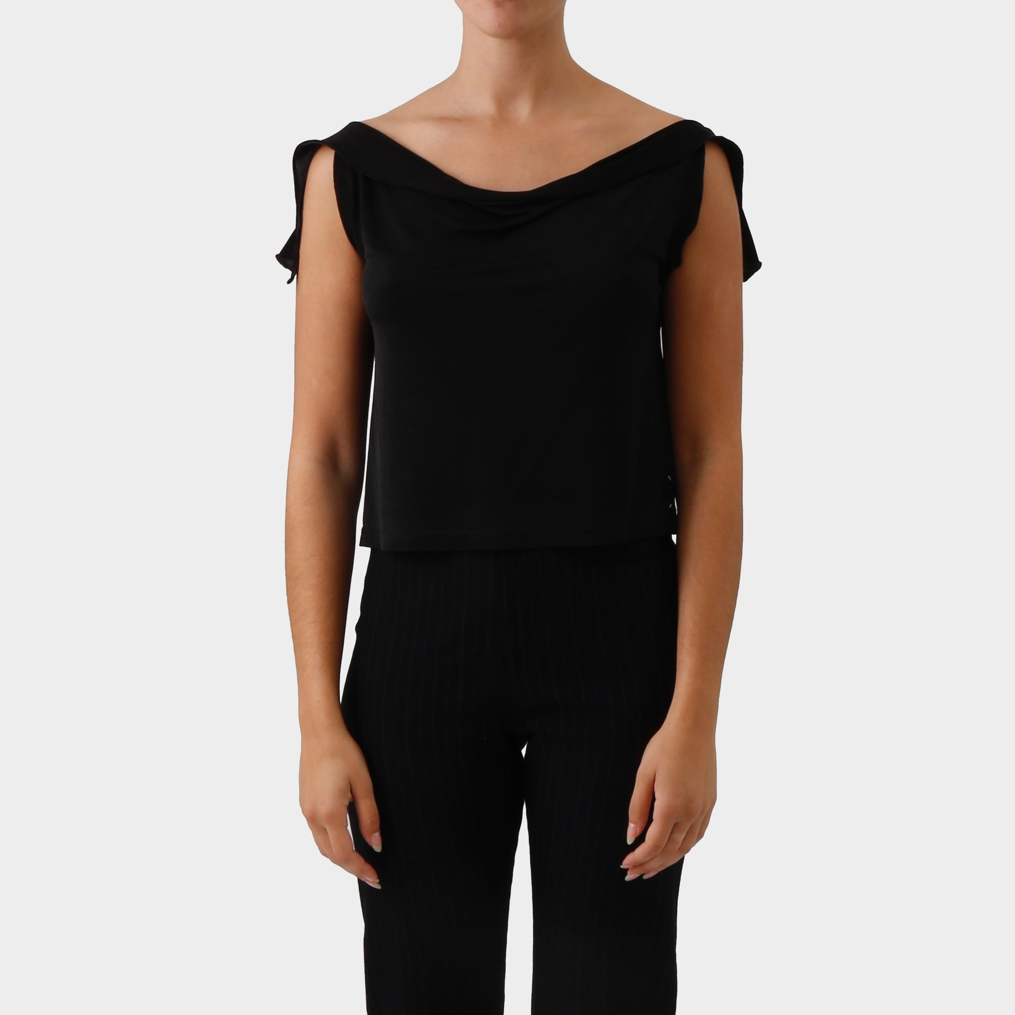 Maison Martin Margiela Backless Draped Top