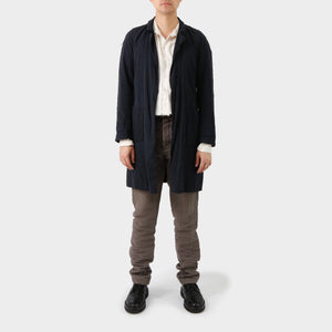 Carpe Diem Cotton Reversible Coat