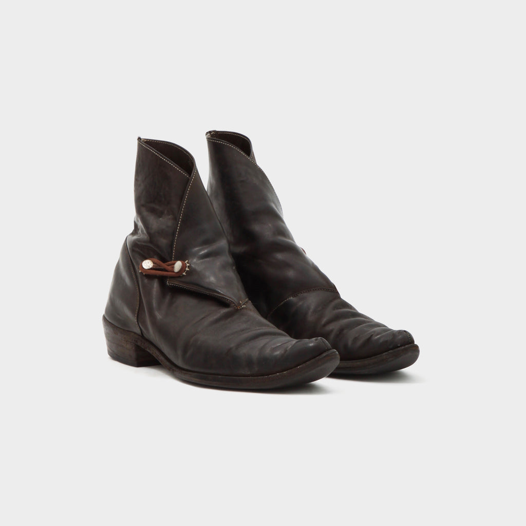 Carol Christian Poell Folded Hockeye Boot