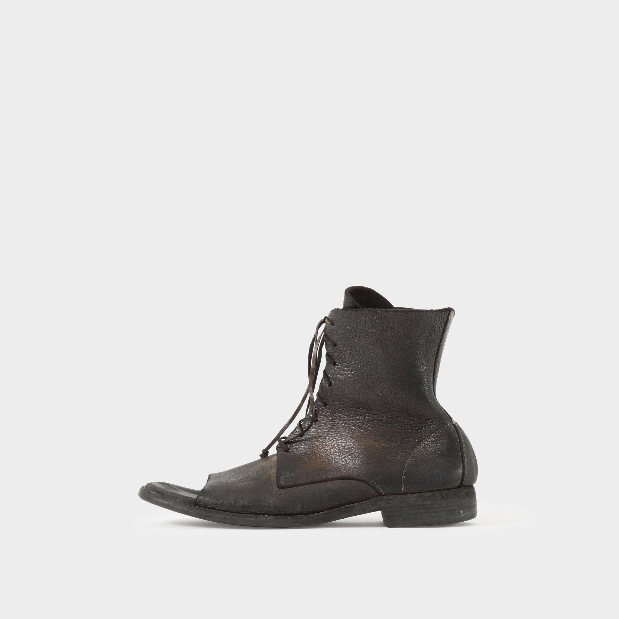 Guidi Open-Toe Boots