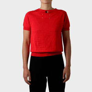 Maison Martin Margiela Mirror Short sleeve Knit