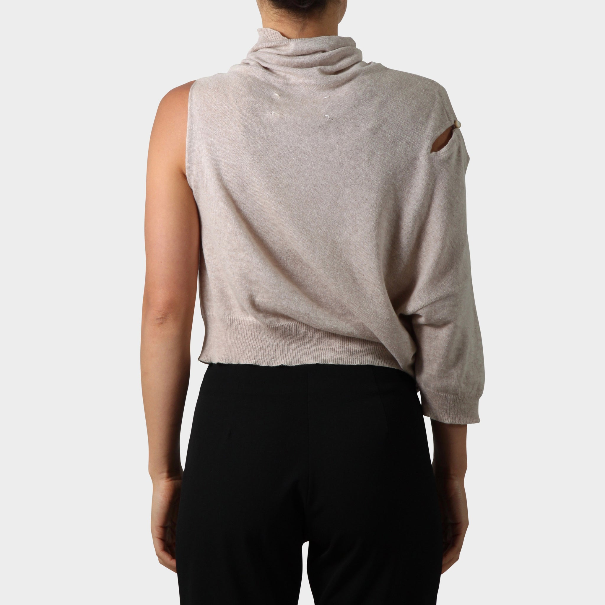 Maison Martin Margiela Sideways Mock Neck Jumper
