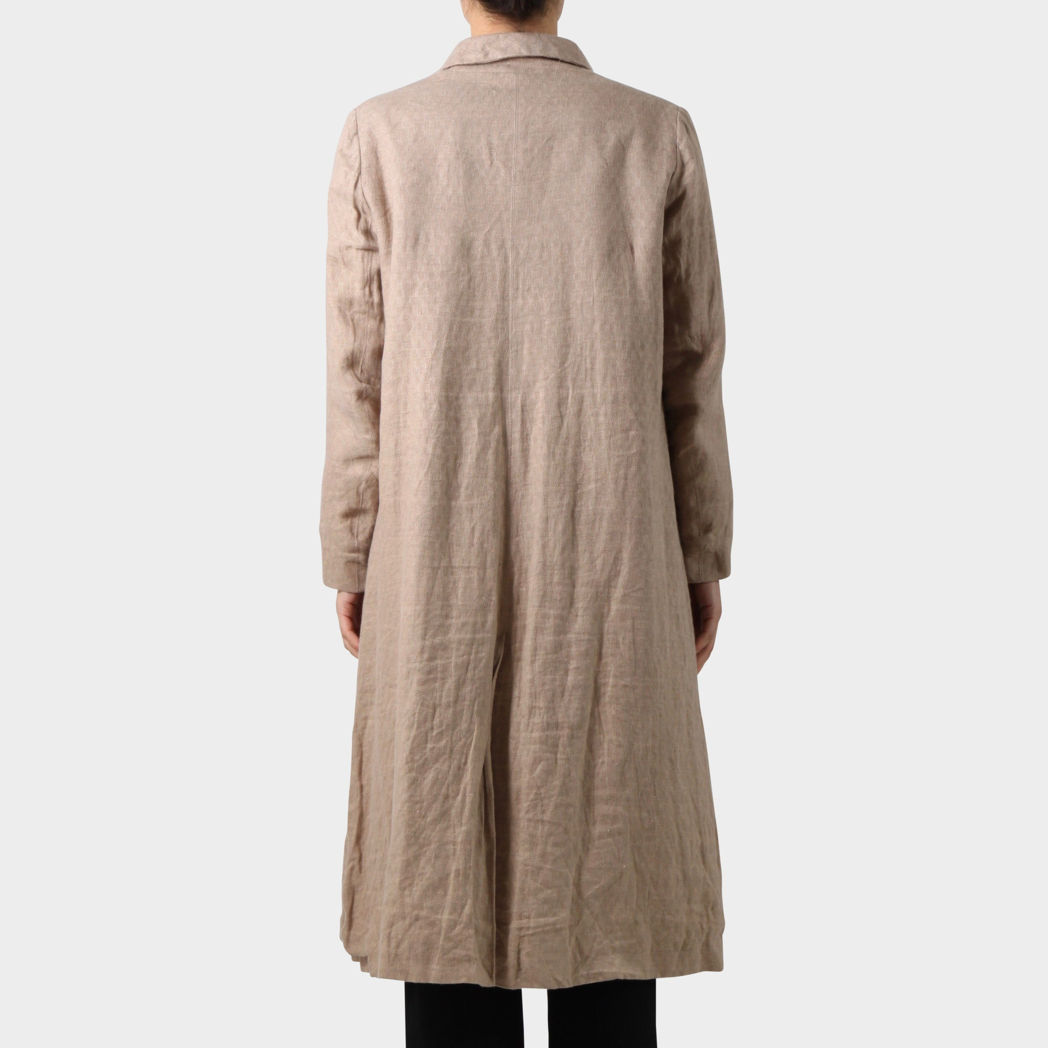 Paul Harnden Shoemakers Pink Linen Mayfair Coat