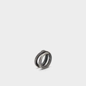 Detaj Silver Wound Ring