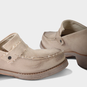 Cherevichkiotvichki Canvas Slip on Derby