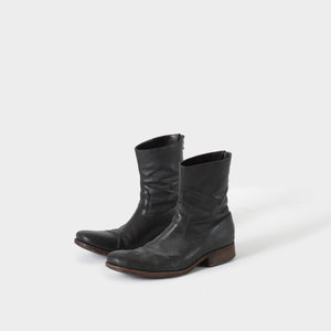 Carpe Diem Backzip High Boots