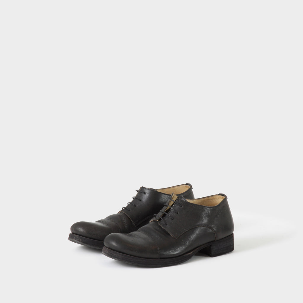 MA+ Black Leather Derby