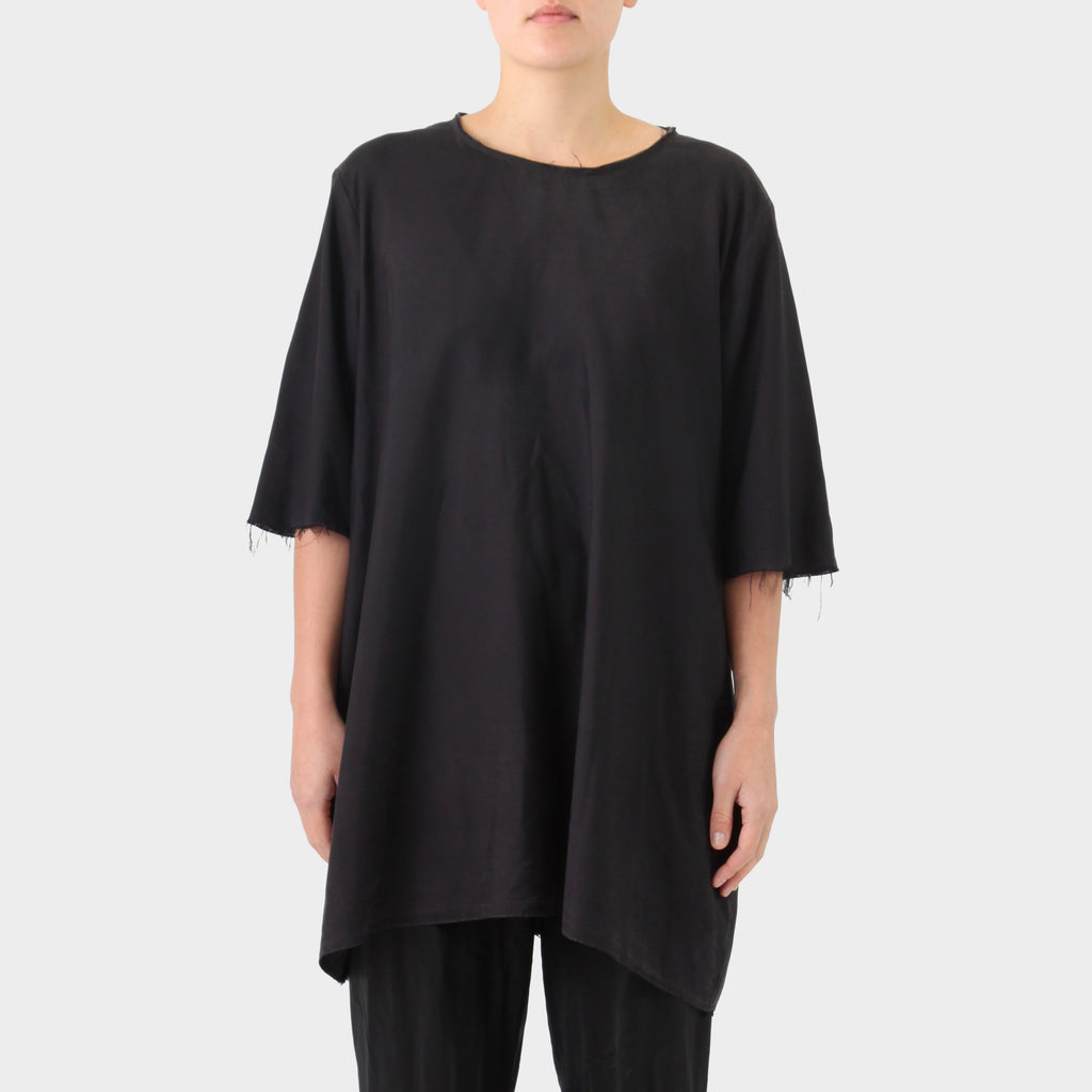 PR Patterson Black Tea Silk Top