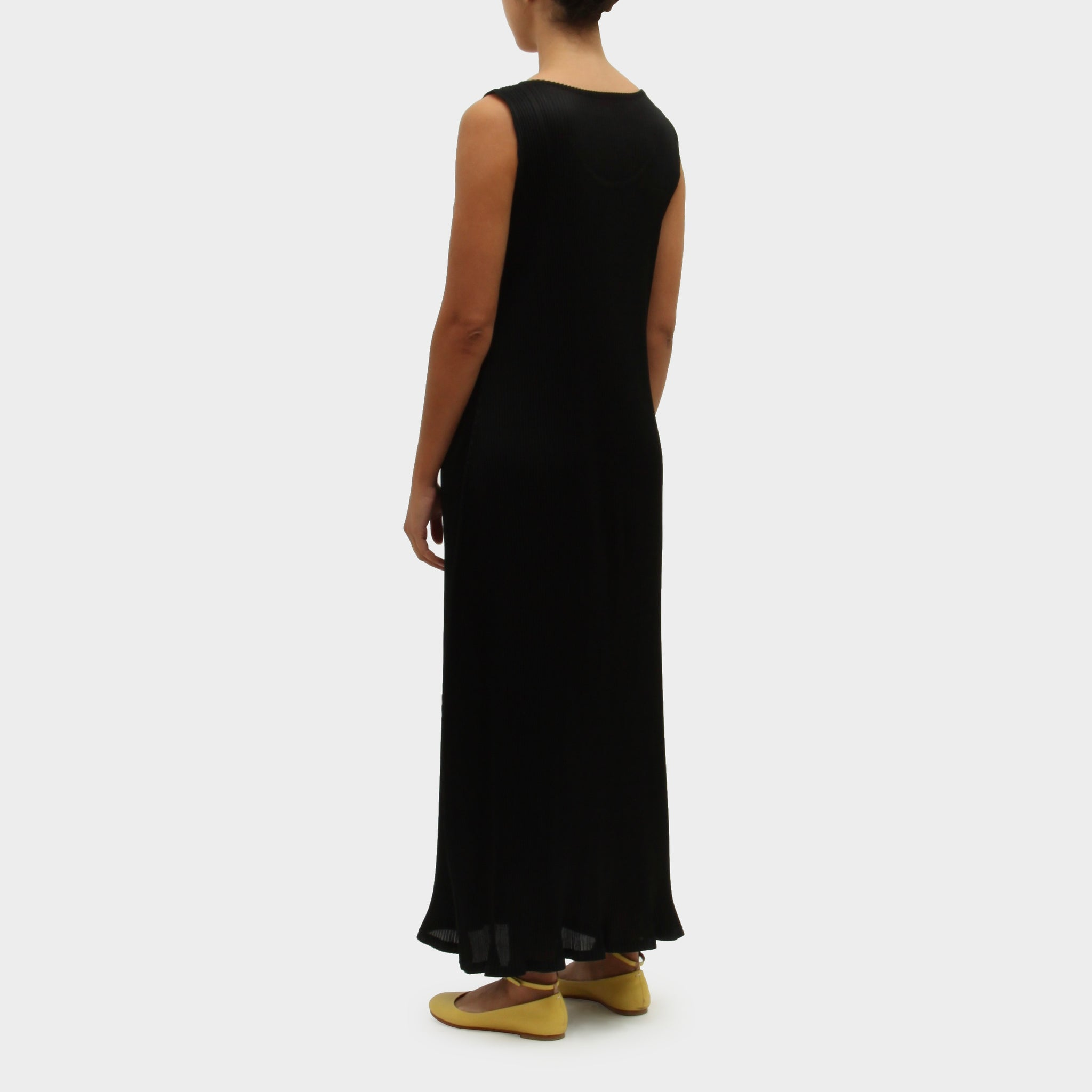 Issey Miyake Shaped Pleated Singlet Dress