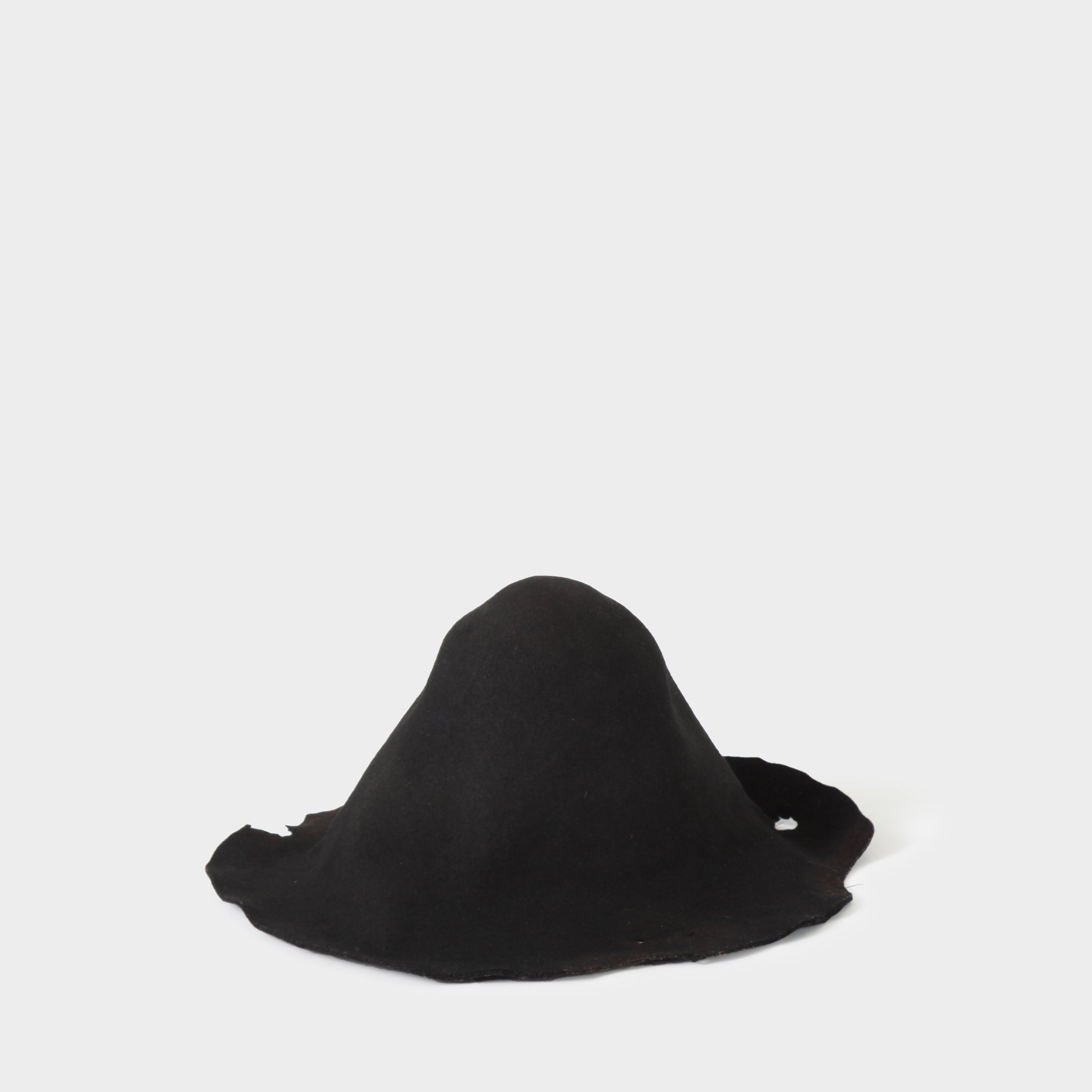 Aleksandr Manamis Rabbit Felt Distressed Hat