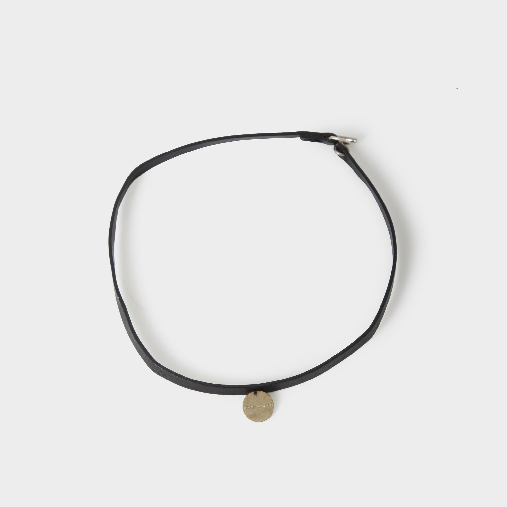 Ann Demeulemeester Leather Choker