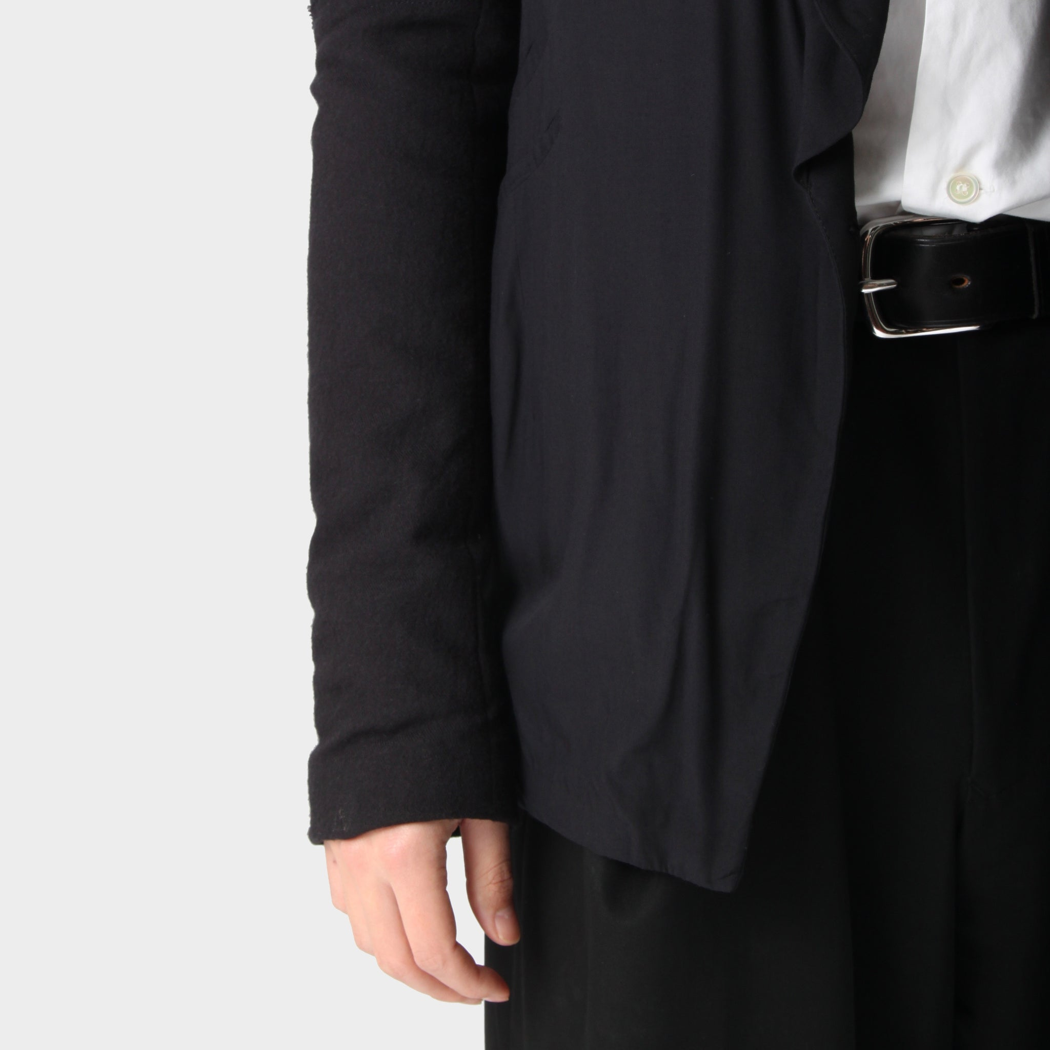 Lost and Found Shawl Collar Double Pocket Jacket