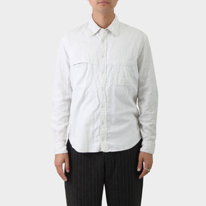 Y's for Men Double Layer Cotton Shirt
