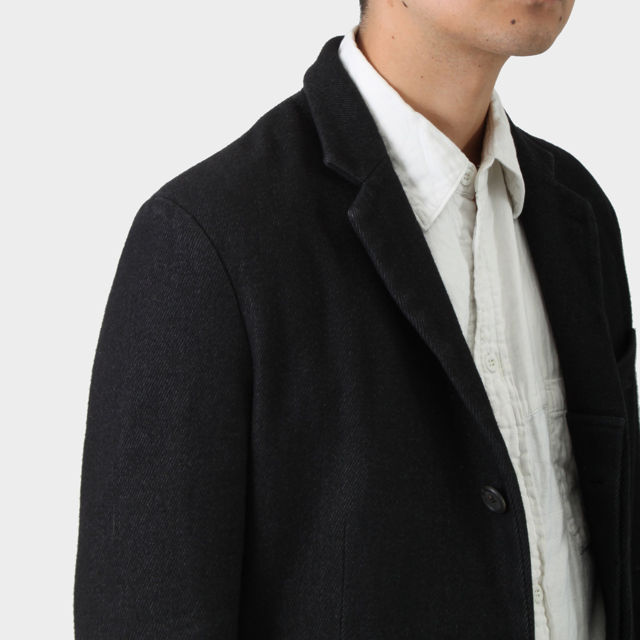 Forme d'Expression Stand Collar Coat