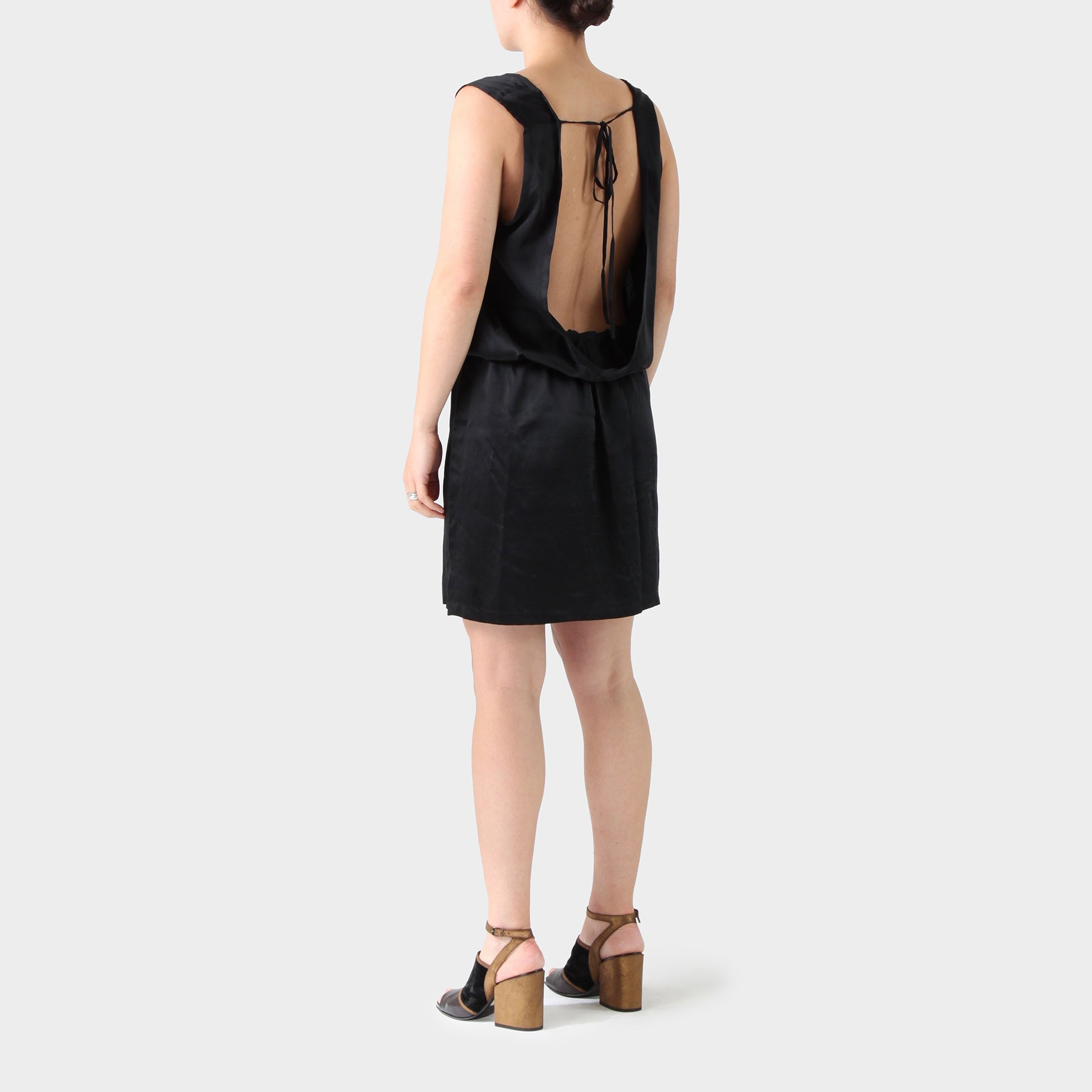 Ann Demeulemeester Silk Dress